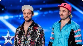 Lords Of Strut bring it back to the Eighties | Auditions Week 7 | Britain's Got Talent 2017