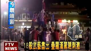台灣第一香! 台南西港香廟會-民視新聞