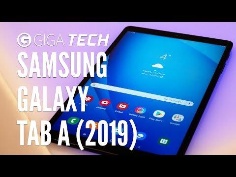 """SAMSUNG GALAXY TAB A (2019) 10.1 Hands-On (deutsch): """"Jedermann-Tablet"""" angeschaut & ausprobiert"""