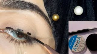 How to apply Liner Easy Trick |Makeup by Sadia|