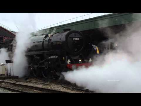 (HD) 70013 Oliver Cromwell 19th May 2012 THE CORNISHMAN (5Z27 E+C)