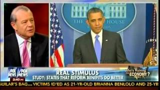 Jobless Benefits - Does Unemployment Insurance Help Economy? - Stuart Varney