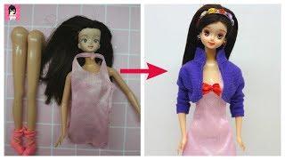 Licca Doll faceup Ami DIY