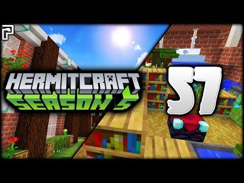 Minecraft Hermitcraft | EPIC MANSION PROGRESS! | Let's Play Minecraft Survival [Episode 57]
