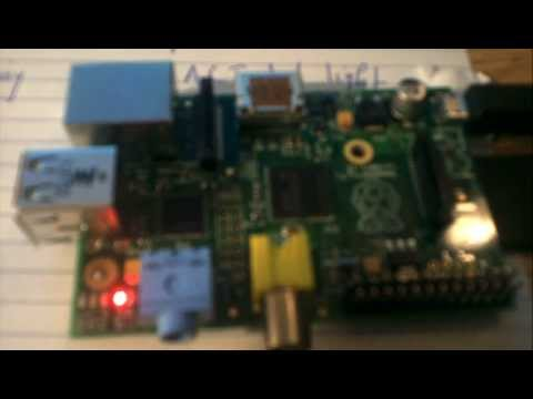 """Lesson OK02: the """"OK"""" light on my Raspberry pi was able to repeatedly blink on & off"""