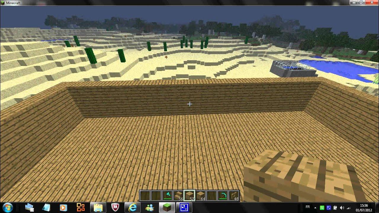 Comment faire une grande et belle maison sur minecraft part 2 youtube - Comment faire une tres belle maison minecraft ...