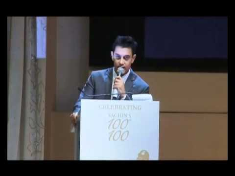 Mr Perfectionist Aamir'S Tribute To Sachin Tendulkar