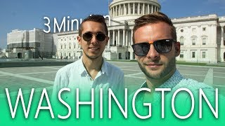 Washington in 3 Minuten 🧐 Tipps für Washington D.C.