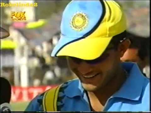 Sourav Ganguly cheats Steve Waugh at the toss RARE FOOTAGE!