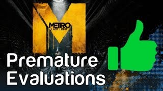 Metro Last Light Premature Evaluation Gameplay