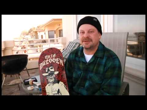 Santa Cruz: Eric Dressen Skeleton Deck