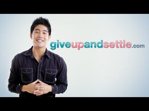 GiveUpAndSettle.com