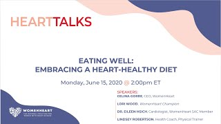 HeartTalks- Eating Well: Embracing a heart-healthy diet