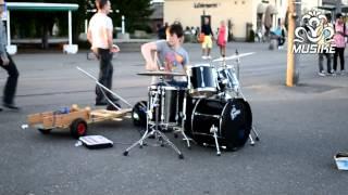 Epic Street Drumming Best Drummer In The World Baard Kolstad Hd