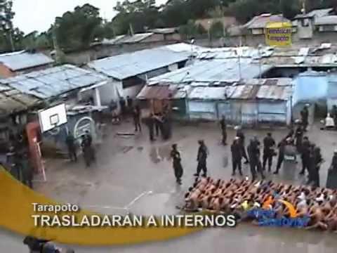 Policia neutraliza intento de fuga de penal y efectúa requisa en Tarapoto