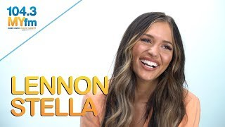 Lennon Stella Talks  'B!+@#', Touring With The Chainsmokers, 5SOS & More