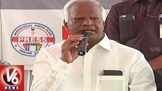 Dy CM Kadiyam Srihari Participate In Meet The Press Program In Warangal
