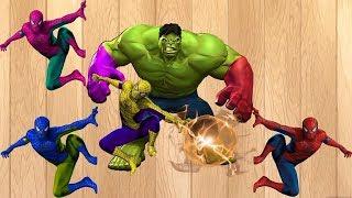 Trực Tiếp: Học màu sắc cùng bé   Tìm hiểu màu sắc với Spiderman Finger gia đình Rhymes cho trẻ em