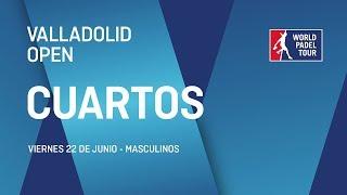 Cuartos de final masculinos - Valladolid Open 2018 - World Padel Tour