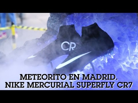 Meteorito en Madrid. Nike Mercurial Superfly CR7