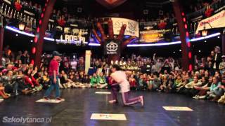 Finał Hip-Hop Solo Dzieci: Jędrzej vs Nadia | Rytm Ulicy 2013