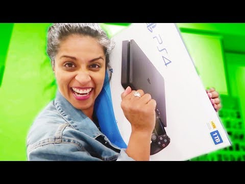 UNBOXING MY NEW PLAYSTATION