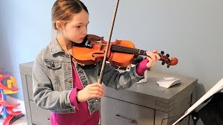 Addy and Her Violin