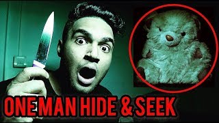ONE MAN HIDE AND SEEK GONE WRONG! 3 AM CHALLENGE