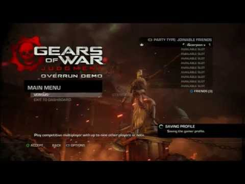 DEMO DE GEARS OF WAR JUDGMENT COMENTARIO EN VIVO