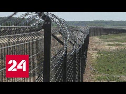 Антон Алиханов: стена на границе с Литвой поможет в борьбе с контрабандой