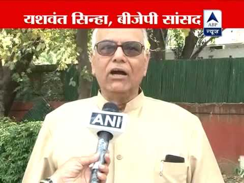 PM should appear before JPC: Yashwant Sinha