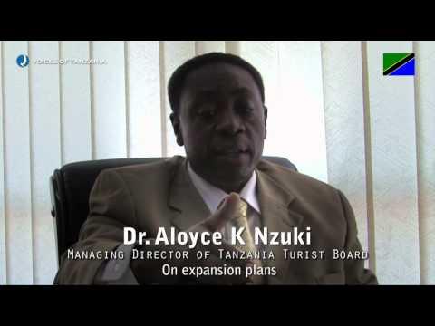 Voices of Tanzania - Dr. Aloyce K Nzuki - MD of Tanzania Tourist Board