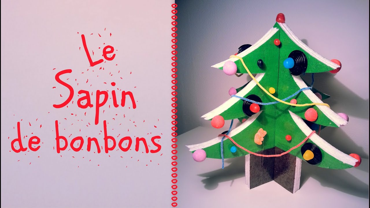 Comment faire un sapin de bonbons youtube - Comment faire un pied de sapin de noel ...