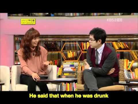 [ENG SUB] 111210 Do Dream - Sunye Regretted her words to her Father