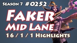SKT T1 Faker - LeBlanc vs Syndra - KR LOL Highlights | 페이커 르블랑