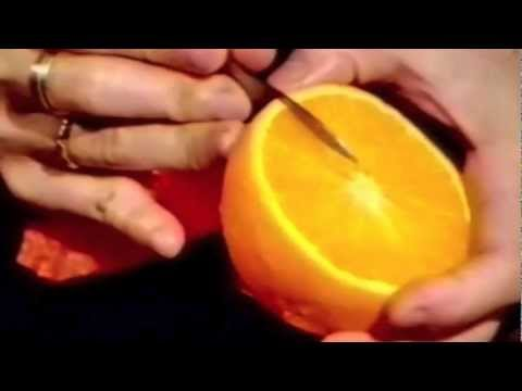 Orange Flower - Beginner's Lesson 14 by Mutita Art of Fruit & Vegetable Carving