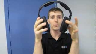 Sennheiser Duo Cinema 170 Dual Wireless Headphone System Unboxing & First Look Linus Tech Tips