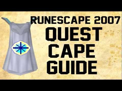 Runescape 2007: Quest Cape Guide