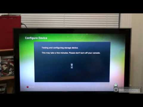 How To Use Xbox 360 USB Flash Drive Storage