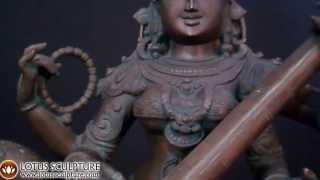 download lagu Bronze Saraswati Statue, Saraswati Swan Bronze Statue gratis