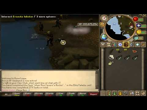 Runescape Ultimate 1-99 Fishing Guide (with commentary! )