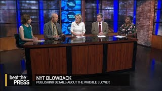 Should The New York Times Have Published Details About The Whistleblower?