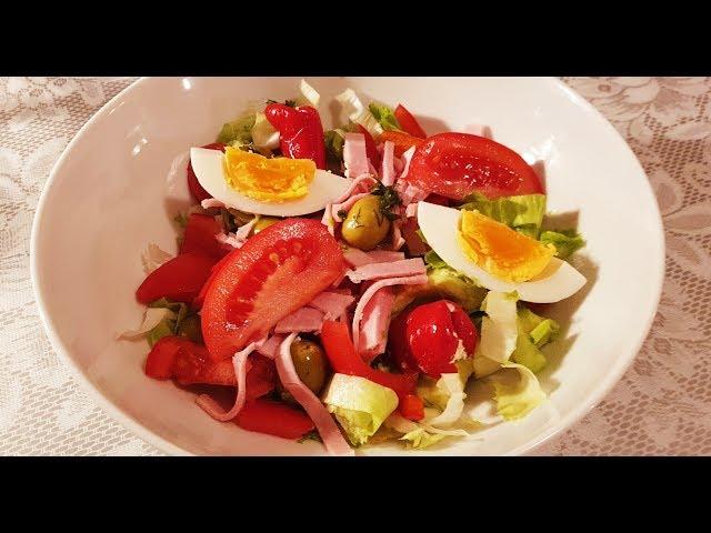 Вкусный быстрый салат!!!