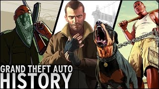 History of - Grand Theft Auto (1997-2015)