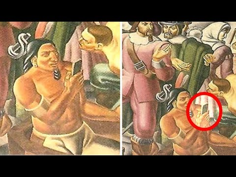 iPhone Spotted In Old Painting From The 1930's?