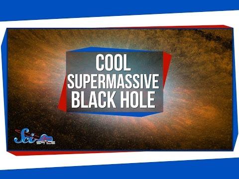 A Strangely Cool Supermassive Black Hole!