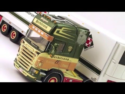 Model Truck world: WSI Perditrans Scania R Series Topline &amp; Refrigerated Trailer