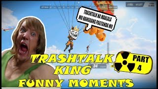 TRASHTALK KING PART 4 | RULES OF SURVIVAL FUNNY MOMENTS | RULES OF SURVIVAL PH
