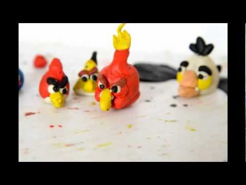 Angry Birds Plasticine Animation Cartoon, Ep. 1