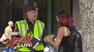 Cousin Sal Hands Out Tickets in NY for No Reason